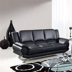 Global Furniture Sofa GL-U9908-BK-SF