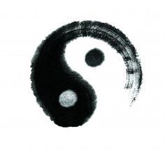 Yin & Yang are opposite energies, yet they are interdependent and could not exist without the other.