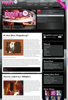 30 Modern Websites with Super Oversized Headers Modern Website, Headers