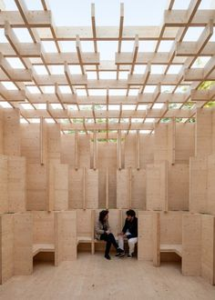 Kjellander + Sjöberg Forest of Venice installation at the Venice Architectural Biennale 2016