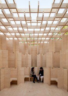 Kjellander + Sjöberg Forest of Venice installation at the Venice Architectural Biennale 2016