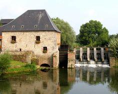 Moulin à eau du 14ème siècle