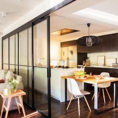 √ Scandinavian Kitchen Design For Your Lovely Home - Boxer JAM Sweet Home, Breakfast Bar Kitchen, Style Deco, Scandinavian Kitchen, Open Concept Kitchen, Family Kitchen, Cuisines Design, Living Room Modern, Beautiful Kitchens