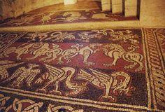 Prieuré de Ganagobie, mosaïque médiévale