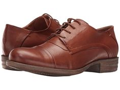 131616782281 1930s Shoes History Miz Mooz Letty Brandy Womens Lace up casual Shoes   129.95 AT vintagedancer.