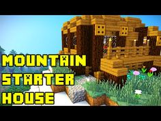 http://minecraftstream.com/minecraft-tutorials/minecraft-mountain-starter-house-tutorial-xboxpepcps3ps4/ - Minecraft: Mountain Starter House Tutorial Xbox/PE/PC/PS3/PS4  This Minecraft mountain starter house tutorial shows how to build a mountain house for your base in Minecraft! Can we get 500 likes :D?? Thank you guys so much for watching and I appreciate your patience with the lack of videos, senior year of high-school just started and there is a lot going...
