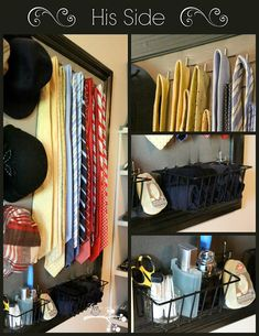 Today I wanted to share the my newest addition to our master closet. When we moved from Dallas a little over a year ago, the new homeow. Master Closet, Closet Bedroom, Closet Space, Make Up Storage, Closet Storage, Closet Layout, Men Closet, Closet Organization, Clothing Organization