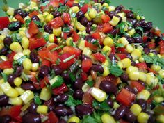 Veganfatkid: Corn & Black Bean Salsa; hold the canned goods
