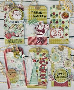 Laurel Seabrook for MME #tags #christmas #scrapbooking