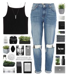 """Granada"" by nanarachel ❤ liked on Polyvore featuring T By Alexander Wang, River Island, SELECTED, Kiehl's, Lux-Art Silks, Brinkhaus, Pier 1 Imports, Proenza Schouler, adidas Originals and Incase"