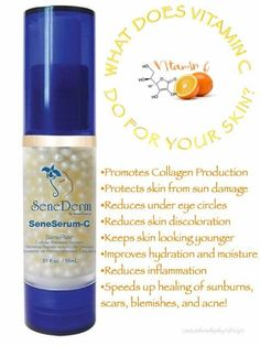 SeneSerum-C Reduces Skin Discoloration and inflammation, speeds up healing #Senegence #SeneSerum-C  (scheduled via http://www.tailwindapp.com?utm_source=pinterest&utm_medium=twpin)