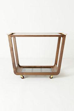 Danish design bar cart