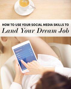 Using Social Media to Land Your Dream Job | Levo League | Career Advice