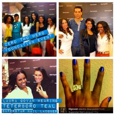 Teterboro Teal by Superstar Nail Lacquer worn by Basketball Wives, Laura Govan. www.superstarnaillacquer.com