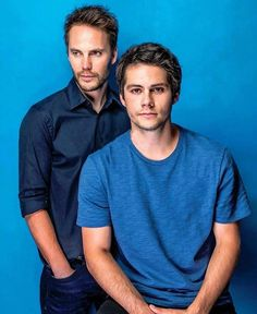 Taylor Kitsch and Dylan O'Brien #AmericanAssassin