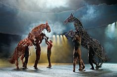 War Horse - one of the most brilliant shows I have ever seen.