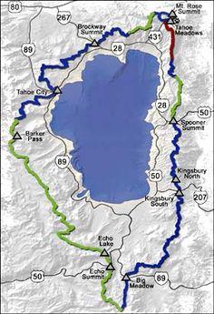 Tahoe Rim Trail Thru-Hike 165 Miles Around Lake Tahoe Thru Hiking, Hiking Trails, Hiking Places, Pacific Crest Trail, Happy Trails, Get Outdoors, California Travel, Lake Tahoe, Outdoor Fun