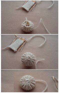 Patrones Crochet: Forrar Botones con Trozos de Crochet