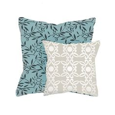Stenciled pillows @Kathy Peterson Inspired  http://www.cuttingedgestencils.com/vines-stencil-fabric-furniture-kathy-peterson.html?category_id=1021