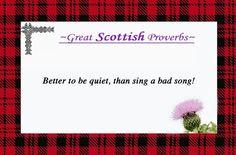 Great Scottish Proverbs