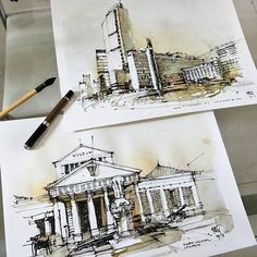 Jakarta @artyan_trihandono #ArchiSketcher