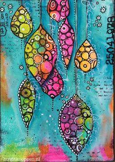 Art journaling, mixed media journal, creative journal, art journal pages, m Kunstjournal Inspiration, Art Journal Inspiration, Journal Ideas, Journal Prompts, Art Journal Challenge, Art Journal Pages, Art Journals, Doodle Drawing, Doodle Art