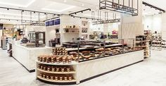 """CADA has redesigned the interiors of The Food Hall at Fenwick's Newcastle store, with the aim of making the food department look """"stylish"""". The redesign included the interiors for specialist food sections such as the fishmonger, meat and game specialist, chocolatiers, coffee roasters, and juice bar. The consultancy also recreated the four dining areas within […]"""