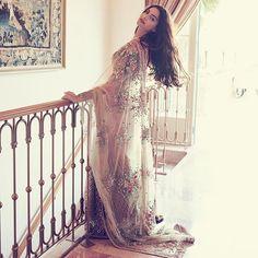 @sonamkapoor on @bazaarbridein Sari - @sabyasachiofficial Jewelry…