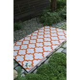 Found it at Wayfair.co.uk - Tangier Hand-Woven Orange Outdoor Area Rug