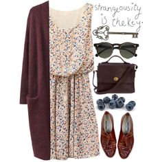 Long cardigans... not the glasses. Different style cardigan :) everything else is on point though!
