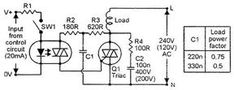 Triac Controled Circuits - various examples