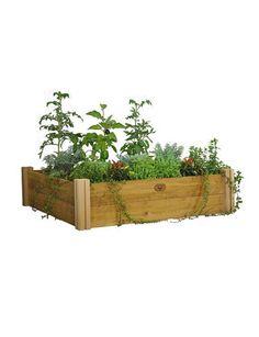 4' x 4' Rustic Cedar Raised Bed