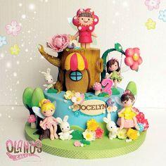 #enchantedforest #fairiescake  #Birthdaycake #customcake #customcakejakarta #partyfavour #kueulangtahunjakarta #jajanjakarta #delicious #sweettable #fondant3D #caketopper #sugarart #olanoscakes #olanos #jakarta #yummy #amazing #instafood #sweet #cake #olshopcake #jktfoodies