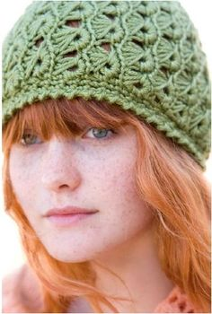 free Crochet hat pattern broomstick lace