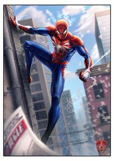 Something Marvel? Image Spiderman, All Spiderman, Comics Spiderman, Marvel Comics Art, Amazing Spiderman, Marvel Heroes, Marvel Characters, Marvel Avengers, Spiderman Sketches
