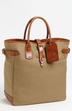 $298, Canvas Tote Bag by Polo Ralph Lauren. Sold by Nordstrom. Click for more info: http://lookastic.com/men/shop_items/73971/redirect