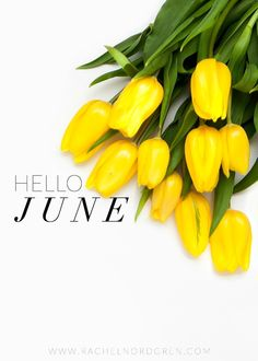 Goals with Grace: Hello June