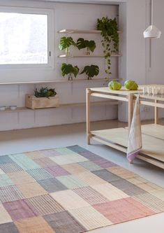 Blend 2 I nanimarquina rugs Raw Color, Affordable Rugs, Solid Surface, Hand Spinning, Color Theory, Design Awards, Interiores Design, Kilim Rugs, Home Accessories
