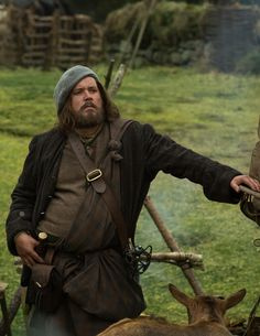 """Love everything about him! Rupert MacKenzie (Grant O'Rourke) in Outlander on Starz 