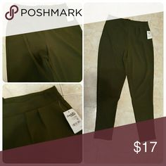 NEW tags xs charlotte russe olive trouser pants New with tags Xs Charlotte Russe Pants Trousers