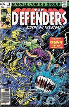 The Defenders #72 (1979) *Bronze Age / Marvel Comics / The Incredible Hulk*