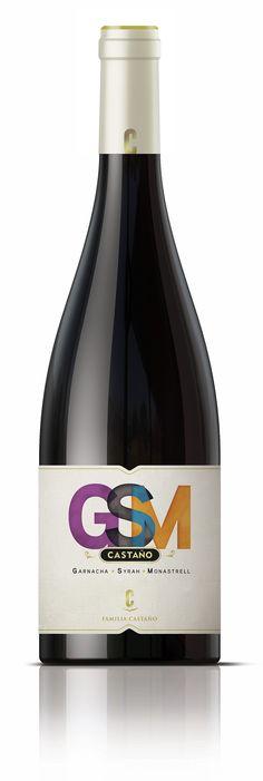 GSM #bogegascastaño #wine #winepackaging #spanishwine #girafadigital #design
