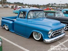 lifted Blue Chevrolet Trucks