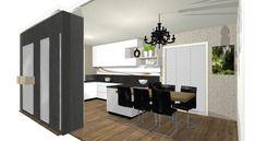 Vizualizácie   Kuchyne a kuchynské štúdiá DOMOSS Divider, Room, Furniture, Home Decor, Bedroom, Decoration Home, Room Decor, Rooms, Home Furniture