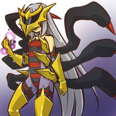 Pokémon - 487 Giratina art by hitec (Sankaku Channel)