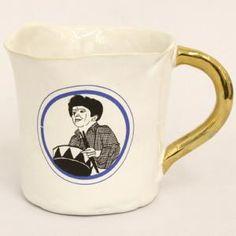ドイツはベルリン発のブランド『Kuhn Keramik(クーン・ケラミック)』。  シンプルなスタイルの陶器にプリントされた柄はどれもインパクトがあり個性的で、どこかユーモアも感じるデザイン。
