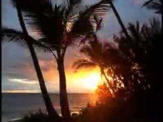 "Keali`i Reichel - ""Hanohano O Maui"" Best Sunset, Beautiful Sunset, Places To Travel, Places To See, Travel Destinations, Maui Beach, Maui Hawaii, Palm Trees Beach, Hawaii Travel"
