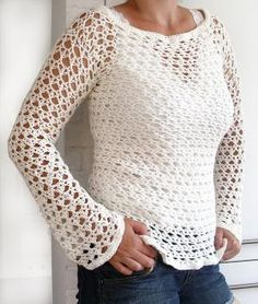 crochet top by georgette