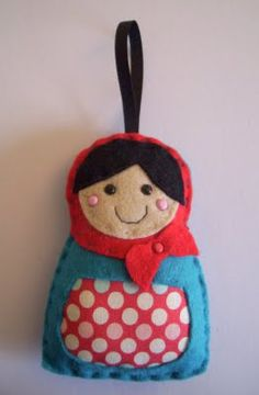 paper-and-string: Russian dolls-no tutorial, just inspiration