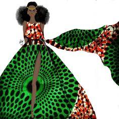 De belles illustrations wax réalisées par Nicholle Kobi l'artiste et illustratrice franco-congolaise. Nous vous avions déjà parlé du talent de cette illustratrice dans notre article sur « 5 illustrateurs à suivre sur Instagram« . Son style, c'est de présenter des scènes de vie normales avec des femmes noires dans différentes situations. Pour cette série spéciale Wax, la ...
